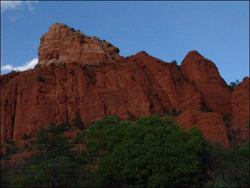 Schnebly Hill Road - Pope's Dick, Sedona, Arizona