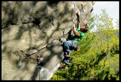 Rock Climbing Photo: social outcast/rumney