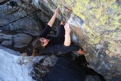 Rock Climbing Photo: Elizabeth Williams on The Kind.