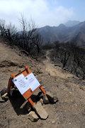 Rock Climbing Photo: Rattlesnake Canyon trail