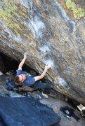 Rock Climbing Photo: Tcamillieri on Whispers of Wisdom, V10.