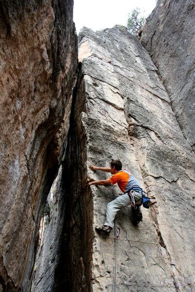 Rock Climbing Photo: Missing Hangers.