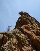 Rock Climbing Photo: The crux bulge of Happy Ending. Photo by Ian Achey...