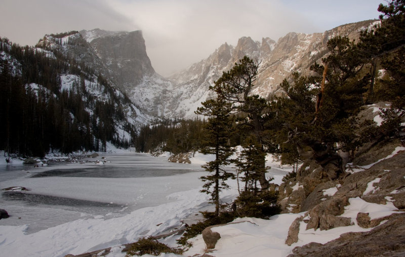 Photographed just after the first snow of 08/09 season.<br> Photo by: Dave Fiorucci