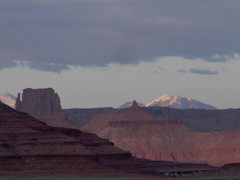 Rock Climbing Photo: La Sals and White Rim.