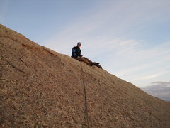 Rock Climbing Photo: Joel on top of Mother #1.