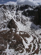 Rock Climbing Photo: The North Face of Pikes Peak