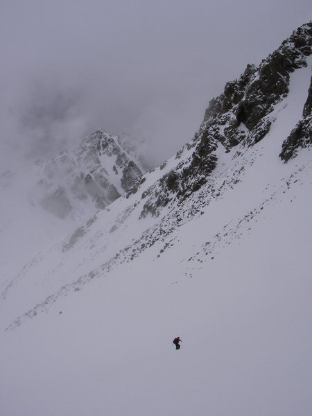 Montezuma Basin Castle Peak