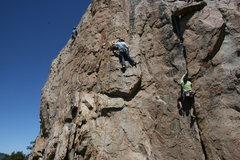 Rock Climbing Photo: Agina Sedler on Western Farm Service. Unknown clim...