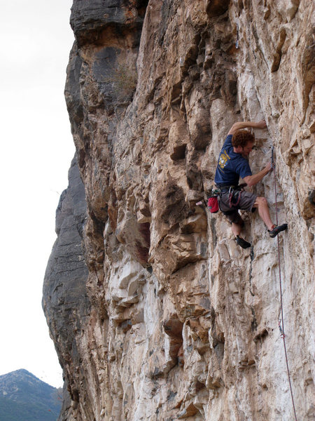Rock Climbing Photo: One of the many sweet moves on Morbius. Pic by Pet...