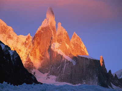 Rock Climbing Photo: Sunrise, Cerro Torre