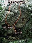 Rock Climbing Photo: Castaway photo beta.