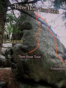Rock Climbing Photo: Three Hour Tour photo beta.