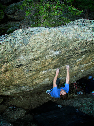 "Rock Climbing Photo: Luke Childers climbing ""2nd Mate"" at The..."