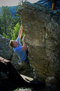 "Rock Climbing Photo: Luke Childers climbing ""Peg Leg"" at the ..."