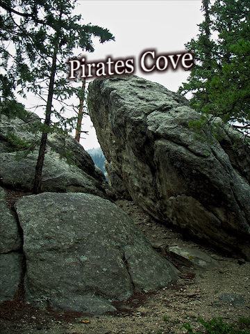 What the Pirates Cove will look like when you see it on your left.