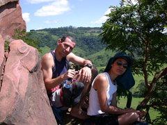 Rock Climbing Photo: Climbing in Sao Paulo