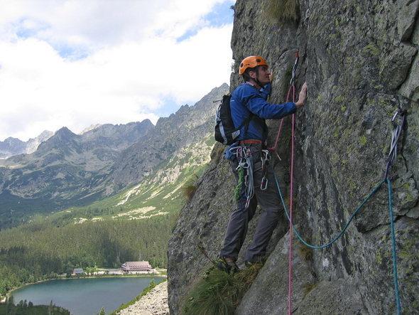 Rock Climbing Photo: 2007.07.30. Ostrva High Tatry (SK)