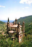 Rock Climbing Photo: The Chiesa dei Cinque Campanili, or church with fi...