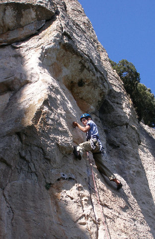 Rock Climbing Photo: Lo Soterrani, one of many cliffs at La Mussara