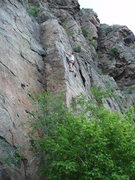 Rock Climbing Photo: Nice arete....