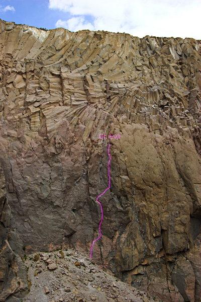 Rock Climbing Photo: Dr. Evil on Gotham City