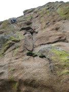 Rock Climbing Photo: Rob lichen it some more.