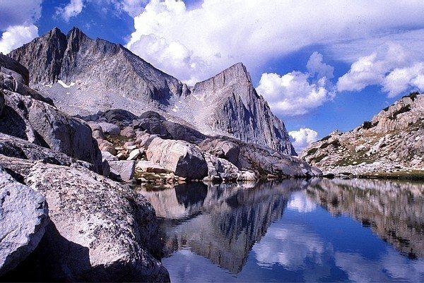 The NE view of Seven Gables Peak