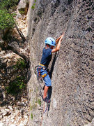 Rock Climbing Photo: Moritz Waldleben, age 9, Can Margues Upper