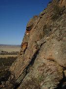 Rock Climbing Photo: Watchtower Crack and Brolga