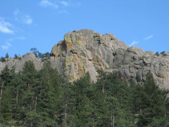 Rock Climbing Photo: The left side of the Massif.