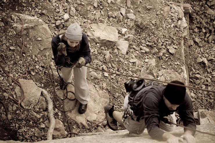 Rock Climbing Photo: Ok, now its my turn