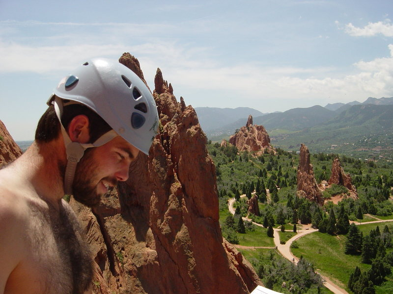 Rock Climbing Photo: Overlooking the garden
