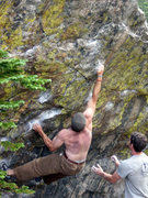 Rock Climbing Photo: The Kind at Emerald Lake RMNP