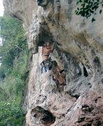 Rock Climbing Photo: Muy Thai, .11a