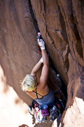 Rock Climbing Photo: Emily. East of Eden. photo by Mat Jacobson.