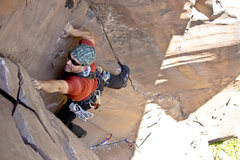 Rock Climbing Photo: John. Goldfinger.