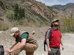 Rock Climbing Photo: Das bootlace
