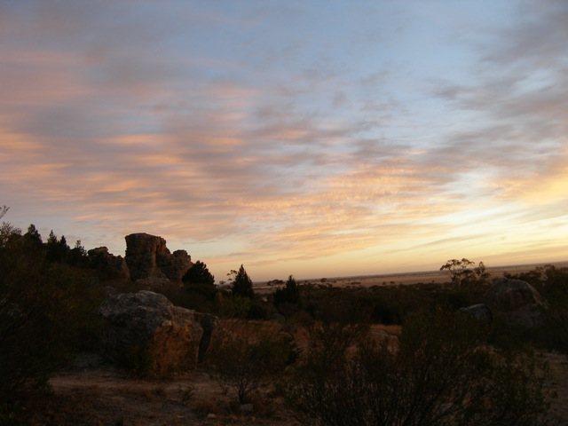 Rock Climbing Photo: Sunrise at Arapiles