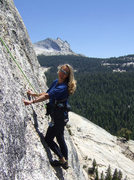 Rock Climbing Photo: Daff Dome, Blown Away / West Crack junction