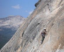 Rock Climbing Photo: Great Circle on Daff Dome