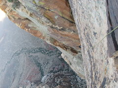 Rock Climbing Photo: Ever feel like you are way up there? Gomoll, follo...