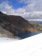 Rock Climbing Photo: Heading towards Cobalt Lake, Bugaboos, BC.