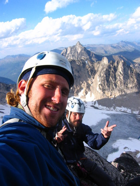 Rock Climbing Photo: Gomoll and Snipes, pre LVABS, Sunshine Crack (11-)...