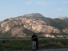 Rock Climbing Photo: The Chief is so big we had to drive all the way ou...