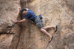 Rock Climbing Photo: Meade with full body stem
