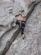 Rock Climbing Photo: Dottie Cross leading Poking Holes ...