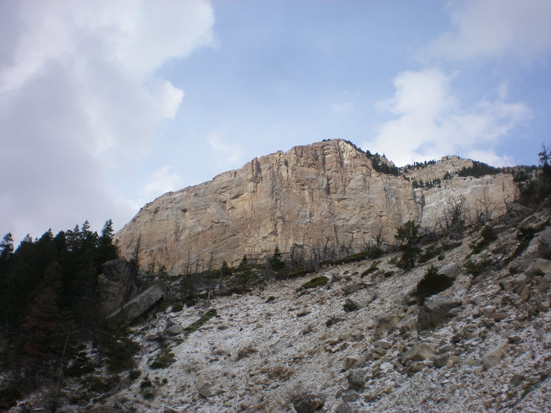 The Northern Wall of Blackleaf Canyon