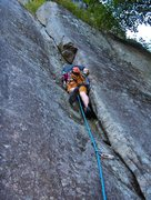Rock Climbing Photo: Climbing Snake Slide 5.8