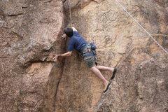 Rock Climbing Photo: Getting Stout
